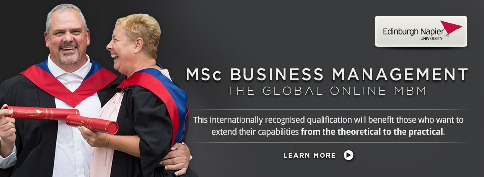 MSc Business Management - The Global Online MBM
